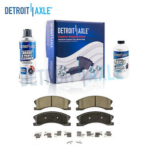 Front Ceramic Brake Pads For 1999 2000 2001 2002 2003 2004 Jeep Grand Cherokee