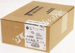 New Allen Bradley 2711p t6c20d8 a Panelview Plus 6 600 6 in Color Touch Std