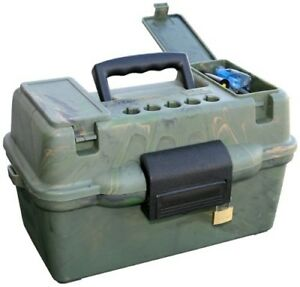 MTM Deluxe Shotshell Case 12 Gauge 20 Gauge Dry Box Ammo Can Ammunition Crate