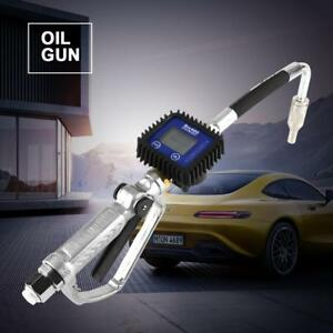 Digital Fuel Oil Lubricant Nozzle Gun Fueling Nozzle With Flow Meter Highq Us