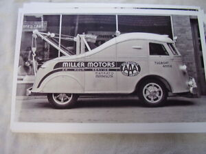 1937 International Coe Tow Truck Custom Body 11 X 17 Photo Picture
