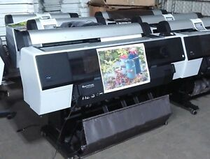 Used Epson Stylus Pro 9900 44 Large Format Printer 1 012 Pages Spectroproofer