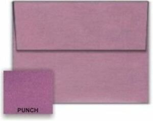 Metallic Punch A6 4 3 4 x 6 1 2 Envelopes 250 pk 120 Gsm 81lb Text Paperpa