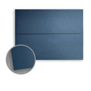 Metallic Dark Blue Lapis A6 4 3 4 x 6 1 2 Envelopes 250 pk 120 Gsm 81lb Tex