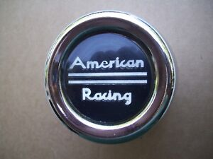 American Racing Center Cap Vintage Metal American Racing Center Cap 70s 80s Cap