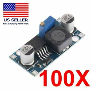 Us 100pcs Lm2596 Dc dc Buck Adjustable_step down Power Supply Converter Module