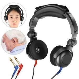 New Audiometer Hearing Screening Headphone Air Conduction For Hearing Test Gl