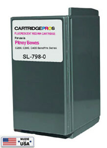 Pitney Bowes Sl 798 0 Ink Cartridge For Sendpro C200 C300 C400 made In Usa