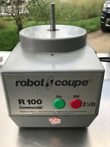 Robot Coupe R100 2 1 4 Qurart needs New Motor For Parts