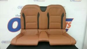 2017 17 Chevy Camaro Ss Convertible Rear Seat Tan Leather