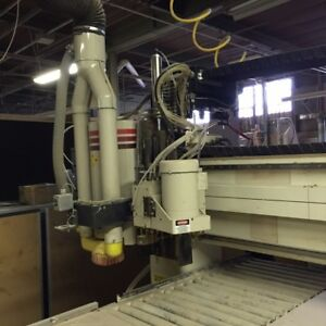 Used Cnc Router Thermwood Model 53 Reduced Price