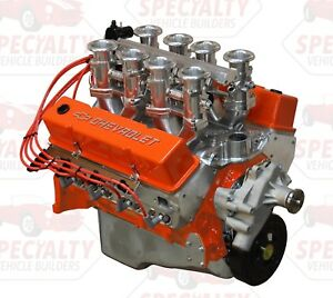 Small Block Chevy 350 Ci 400 Hp Crate Engine With Hilborn Style Fuel Injection
