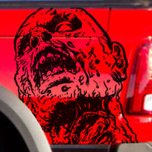 Dodge Ram Chevy Ford Zombie Walkers Side Truck Vinyl Graphic Decal Bed Tailgate