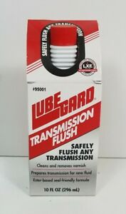 Lubegard Automatic Transmission Flush With Lxe Technology 10 Fl Oz 296ml