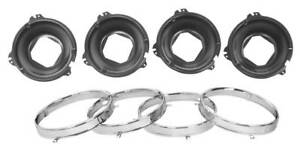 1964 70 Chevy Chevrolet Chevelle El Camino 66 Gto Headlight Mount Buck Ring Set