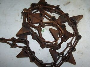 New Idea Corn Picker 324 325 Used 302320 Out Side Long Gathering Chain