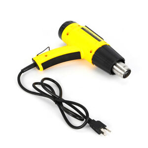 Heat Gun Heavy Duty Hot Air Gun Variable Temperature Control 1500w With Lcd Us