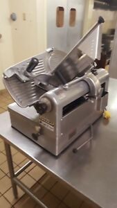 Hobart 1712 Automatic 2 Speed Commercial Slicer Used