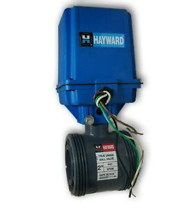 Hayward Flow Control True Union Ball Valve And Electric Actuator For 2 Pvc