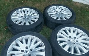 10 11 12 Ford Fusion Hybrid 17 Inch Rims And Tires Set Of 4