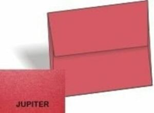 Metallic Jupiter Red A6 4 3 4 x 6 1 2 Envelopes 1000 pk 120 Gsm 81lb Text