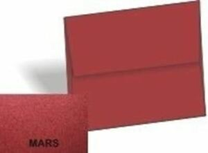Metallic Dark Red Mars A6 4 3 4 x 6 1 2 Envelopes 250 pk 120 Gsm 81lb Text