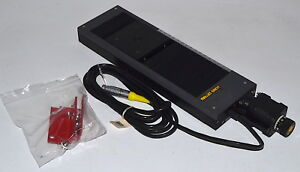 Melles Griot Nanostep 17nst104 150mm Linear Stage used