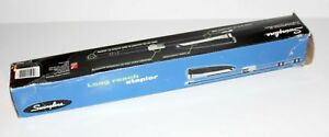 New Swingline Long Reach Stapler Professional Series 34121 Black W Box