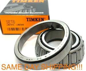 Timken Set 6 Set6 lm67048 Lm67010 bearing Cone cup Same Day Shipping