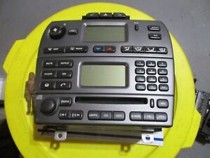 Jaguar X Type Am Fm Radio Cd Disc Player Tuner Climate Control Phone Oem