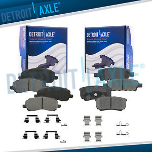 Front Rear Ceramic Brake Pads For Sebring Avenger Caliber Compass Patriot Lancer