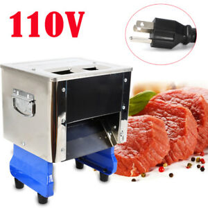 Slicer Meat Slicer Cutter Beef Mutton Sheet Slicing Machine Business Kitchen Usa