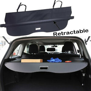 For 2015 2019 2020 Ford Edge trunk Cargo Cover Black Privacy Shade Shielding