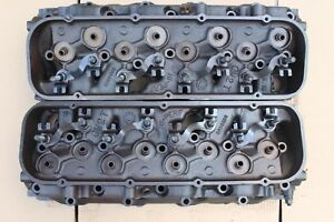 Chevy 3994026 Big Block Chevy Rectangle Port Cylinder Heads Open Chamber Ls6 454