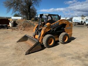 2012 Case Sv300 Skid Steer Loader low 599 Hours auxiliary Hydraulics in Texas