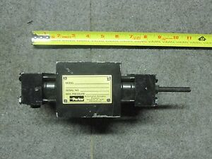Parker Htr1 8 090x aa11 a34 Hydraulic Rotary Actuator New