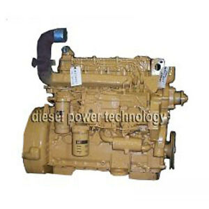 Caterpillar 3204 Remanufactured Diesel Engine Long Block