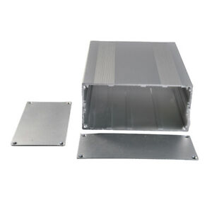 Aluminum Project Box Enclosure Case Electronic Diy Silver 68x145x200mm h w l