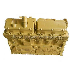 Caterpillar 3412e Remanufactured Diesel Engine Long Block