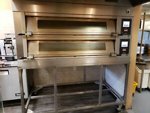 Bakery Deck Oven With Steamer Electric uni do3w 2 Year 2017 1411