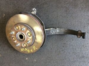 91 92 93 Accord Ex Se Right Front Abs Suspension Knuckle Spindle Hub Used Oem