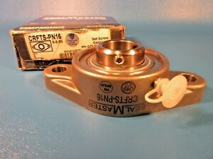 Sealmaster Crfts pn16 Flange mount Ball Bearing Unit 1 Bore