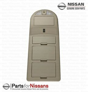 Genuine Nissan 2007 2008 Titan Beige Overhead Interior Console Reading Light