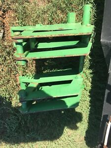 John Deere Loader Quick Attach Brackets