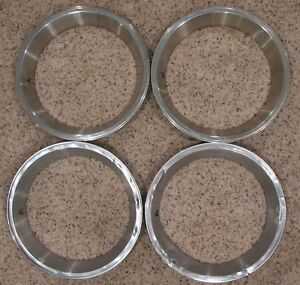 Wheel Trim Ring For 14 Mopar Plymouth Dodge Rallye Style Wheels Set Of 4 Rings