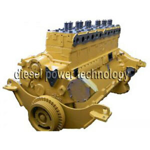 Caterpillar D8k Remanufactured Diesel Engine Extended Long Block