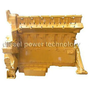 Caterpillar D343 Remanufactured Diesel Engine Long Block