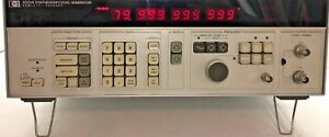 Hp agilent 3335a Synthesized Signal Generator 200hz 80 Mhz