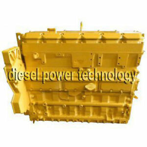 Caterpillar C7 Remanufactured Diesel Engine Long Block 3 4 Engine Generator