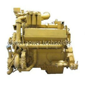 Caterpillar D346m Remanufactured Diesel Engine Long Block Or 3 4 Engine
